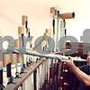 Beck Diefenbach  -  bdiefenbach@daily-chronicle.com<br /> <br /> Organ service technician Stephan Drexler, of Berghaus Pipe Organ Builders, manually tests a pipe of the organ at St. Mary's of the Assumption Church in Maple Park, Ill., on Friday March 20, 2009. Drexler was tuning the organ in preparation of the future performance.