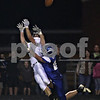 Beck Diefenbach  -  bdiefenbach@daily-chronicle.com<br /> <br /> Sycamore wide receiver Eric Ray (5) reaches for a pass as Burlington Central Kevin Kellish (24) is called for pass interference during the second quarter of the game at Burlington Central High School in Hampshire, Ill., on Friday Sept. 4, 2009.
