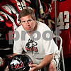 Beck Diefenbach  -  bdiefenbach@daily-chronicle.com<br /> <br /> Northern Illinois football equipment manager Alvy Armstrong on Wednesday Aug. 19, 2009.