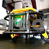 Rob Winner – rwinner@daily-chronicle.com<br /> The Stryker Power PRO XT, which is a new ambulance cot that the DeKalb Fire Department recently acquired, uses a battery that lasts for about 20 calls before needing charging according to Lt. Don Faulhaber.<br /> 07/11/2009