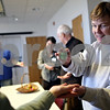 Beck Diefenbach – bdiefenbach@daily-chronicle.com<br /> <br /> Volunteer hospice worker Kathleen Anderson, right, participates in a movement exercise during an in-service meeting for hospice volunteers at the DeKalb County Hospice building in DeKalb, Ill., on Thursday Feb. 5, 2009.