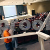 Beck Diefenbach  -  bdiefenbach@daily-chronicle.com<br /> <br /> The public hearing concerning the wind farms gets underway at the Holmes Student Center at Northern Illinois University in DeKalb , Ill., on Monday May 11, 2009.