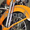 Beck Diefenbach  -  bdiefenbach@daily-chronicle.com<br /> <br /> A 1947 Harley Davidson motorcycle at the Barb City Motorcycle Museum at Pierce Harley Davidson in DeKalb, Ill., on Friday May 8, 2009.