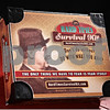"""Beck Diefenbach  -  bdiefenbach@daily-chronicle.com<br /> <br /> David Barrow created the """"Hard Times Survival Kit."""""""