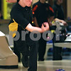 Beck Diefenbach  -  bdiefenbach@daily-chronicle.com<br /> <br /> Sycamore's Kyle Edwards rolls his ball during warm ups for a match at the Four Season's bowling alley in Sycamore, Ill., on Wednesday Dec. 2, 2009.