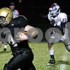 Rob Winner – rwinner@daily-chronicle.com<br /> <br /> CJ Compher runs for the end zone for Sycamore's second touchdown in the second quarter.<br /> <br /> 10/23/2009