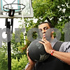 Beck Diefenbach  -  bdiefenbach@daily-chronicle.com<br /> <br /> Former Northern Illinois basketball player Mike Hart will soon be undergoing heart surgery.