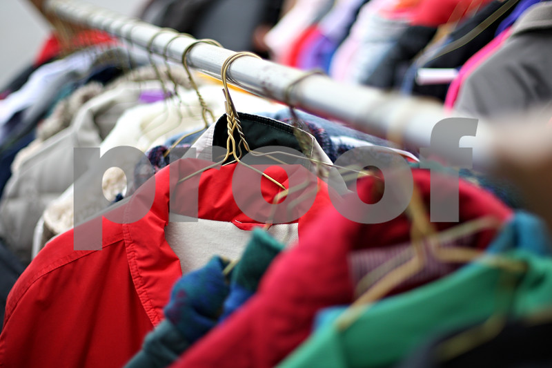 Beck Diefenbach  -  bdiefenbach@daily-chronicle.com<br /> <br /> Cleaned, donated coats wait at Greenacre Cleaners in DeKalb, Ill., on Wednesday Dec. 2, 2009.
