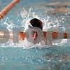 Beck Diefenbach  -  bdiefenbach@daily-chronicle.com<br /> <br /> Senior Carly Primrose during practice at the DeKalb High School swimming pool in DeKalb, ill., on Wednesday Sept. 2, 2009.