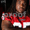 Rob Winner – rwinner@daily-chronicle.com<br /> Jason Onyebuagu LG<br /> NIU Football<br /> 08/07/2009