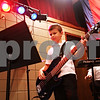 "Beck Diefenbach  -  bdiefenbach@daily-chronicle.com<br /> <br /> Noah Hansen, 8, plays bass during band practice for ""The Reborn"" at the Salvation Army in DeKalb, Ill., on Wednesday Sept. 23, 2009."