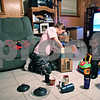 Beck Diefenbach  -  bdiefenbach@daily-chronicle.com<br /> <br /> Mindy Albright, center, empties moving boxes of kitchenware with her two sons, Evan McCormick (far right), 5, and Dominick, 1, in their new DeKalb, Ill., apartment on Saturday May 2, 2009. Unpacking has been a slow process for Mindy who works two job.