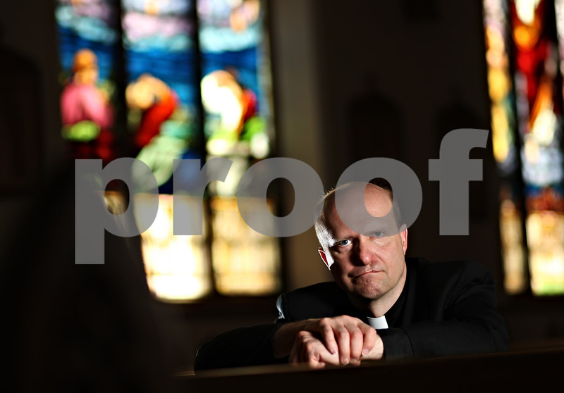 Beck Diefenbach – bdiefenbach@daily-chronicle.com<br /> <br /> Father Ken Anderson of St. Mary's Church in DeKalb, Ill.