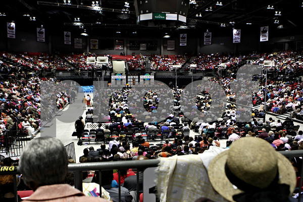 Rob Winner – rwinner@daily-chronicle.com<br /> Jehovah's Witnesses filled the Convocation Center at NIU last weekend for an annual district convention.<br /> 07/25/2009