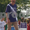 Randi Stella – rstella@daily-chronicle.com<br /> <br /> Bob Myroth, 82 from Rochelle, walks with his great grandson, James, 5, during the Relay for Life in Sycamore, Ill., Saturday, June 20th, 2009.