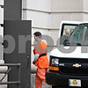 Rob Winner – rwinner@daily-chronicle.com<br /> Eric Laskowski is escorted into the DeKalb County Courthouse on Thursday afternoon.<br /> 10/01/2009