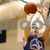 Beck Diefenbach  -  bdiefenbach@daily-chronicle.com<br /> <br /> Genoa's Ethan Menges shoots the ball during practice at Genoa Kingston High School in Genoa, Ill., on Wednesday Jan. 7, 2009.