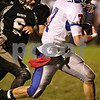 Beck Diefenbach  -  bdiefenbach@daily-chronicle.com<br /> <br /> Kaneland's Tyler Callaghan (6, left) cannot catch up with Glendbard South's Nick Slezak (7) before he scores the first touchdown of the game during the first quarter of the game at Kaneland High School in Maple Park, Ill., on Friday Oct. 2, 2009