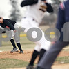 Beck Diefenbach  -  bdiefenbach@daily-chronicle.com<br /> <br /> DeKalb pitcher Alex Jaquez watches his ball during the first inning of the game against Sycamore at Sycamore Community Park in Sycamore, Ill., on Wednesday April 8, 2009.
