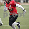 Beck Diefenbach  -  bdiefenbach@daily-chronicle.com<br /> <br /> Northern Illinois linebacker Pat Schiller (29) during practice at Huskie Stadium in DeKalb, Ill., on Tuesday April 14, 2009.