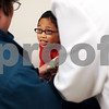 "Beck Diefenbach  -  bdiefenbach@daily-chronicle.com<br /> <br /> Erin Hawkins, 10, winces as she receives her flu vaccine shot at the DeKalb County Health Department in DeKalb, Ill., on Thursday Oct. 22, 2009.<br /> ""I looked at the statistics and (my daughters) looked like they were at risk,"" Erin's mother, Jean Greensley said on why she decided to have her two daughters get the vaccine."