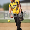 Beck Diefenbach  -  bdiefenbach@daily-chronicle.com<br /> <br /> Sycamore pitcher Rhianna Fleetwood (11) throws the ball during the top of the second inning of the game against Kaneland High School at Sycamore High School in Sycamore, Ill., on Thursday May 14, 2009.