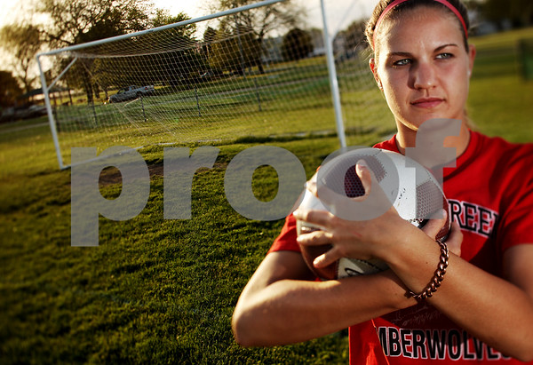 Beck Diefenbach  -  bdiefenbach@daily-chronicle.com<br /> <br /> Indian Creek's Lindsay Richardson is the Daily Chronicle female athlete of the year.