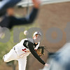 Beck Diefenbach  -  bdiefenbach@daily-chronicle.com<br /> <br /> Indian Creek's Josh Johnson (12) pitches the ball during the third inning of the game against Hiawatha at Indian Creek High School in Shabbona, Ill., on Monday April 20, 2009.