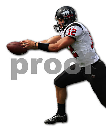 Beck Diefenbach – bdiefenbach@daily-chronicle.com<br /> Northern Illinois quarterback Chandler Harnish (12) hands off the ball during the fourth quarter of the game against Purdue University in West Lafayette, Ind., on Saturday Sept. 19, 2009. NIU defeated Purdue 28 to 21.