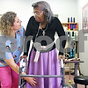 Beck Diefenbach  -  bdiefenbach@daily-chronicle.com<br /> <br /> Physical Therapist Joanne Mata works on leg exercises with resident Mary Ewing during a physical therapy session at Bethany Health Care and Rehabilitation Center in DeKalb, Ill., on Thursday Jan. 15, 2008.