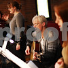 Beck Diefenbach  -  bdiefenbach@daily-chronicle.com<br /> <br /> Ellen Olsen, of DeKalb, participates in a rehearsal for Spirit Wind, the church's band, at Immanuel Lutheran Church in DeKalb, Ill., on Thursday April 2, 2009.