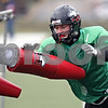 Beck Diefenbach  -  bdiefenbach@daily-chronicle.com<br /> <br /> Northern Illinois linebacker David Pratt during practice at Huskie Stadium in DeKalb, Ill., on Tuesday April 14, 2009.