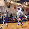 Beck Diefenbach  -  bdiefenbach@daily-chronicle.com<br /> <br /> Genoa-Kingston guard Nick Lopez (22) looses control of the ball during the first quarter of the game against Rockford Lutheran at GK in Genoa, Ill., on Friday Jan. 16, 2009. Lutheran beat GK 46 to 39.
