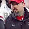 Beck Diefenbach  -  bdiefenbach@daily-chronicle.com<br /> <br /> Northern Illinois' offensive grad assitant Marc Webel during practice at NIU's Huskie Stadium in DeKalb, Ill., on Tuesday March 24, 2009.