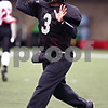 Beck Diefenbach  -  bdiefenbach@daily-chronicle.com<br /> <br /> Northern Illinois quarterback DeMarcus Grady (3) during practice at Huskie Stadium in DeKalb, Ill., on Tuesday April 14, 2009.