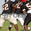 Beck Diefenbach  -  bdiefenbach@daily-chronicle.com<br /> <br /> DeKalb defensive end Devoniss Thompson during practice at DeKalb High School in DeKalb, Ill., on Tuesday Sept. 8, 2009.