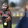 Beck Diefenbach  -  bdiefenbach@daily-chronicle.com<br /> <br /> Indian Creek's Jenna Holm (3) pitches the ball during the third inning of the game against Hiawatha at Indian Creek High School in Shabbona, Ill., on Monday April 20, 2009.