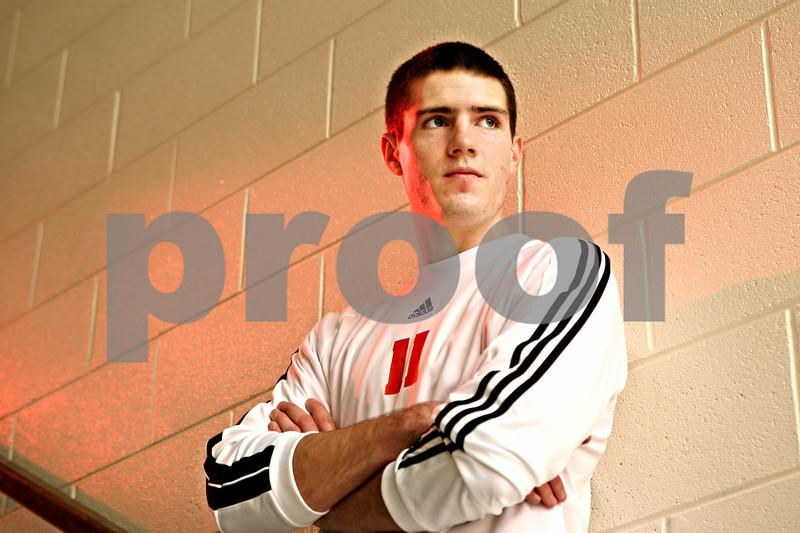 Rob Winner – rwinner@daily-chronicle.com<br /> DeKalb's Jake Johnsen Soccer POY<br /> 11/18/2009