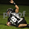 Beck Diefenbach  -  bdiefenbach@daily-chronicle.com<br /> <br /> Kaneland's Ryley Bailey (88) reacts to his touchdown during the second quarter of the game against Glenbard South at Kaneland High School in Maple Park, Ill., on Friday Oct. 2, 2009