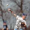 Beck Diefenbach  -  bdiefenbach@daily-chronicle.com<br /> <br /> Hinckley-Big Rock's Cory Bradburn throws the ball during practice at HBR High School in Hinckley, Ill., on Monday March 16, 2009.