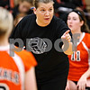Beck Diefenbach – bdiefenbach@daily-chronicle.com<br /> <br /> DeKalb head coach Stephanie Gooden directs her players during the third period of the game against Kaneland at Kaneland High School in Maple Park, Ill., on Saturday Sept. 19, 2009.