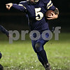Beck Diefenbach  -  bdiefenbach@daily-chronicle.com<br /> <br /> Hiawatha quarterback (5) returns a punt for a touchdown during the first quarter of the game against University of Chicago Charter School-Woodlawn at Hiawatha High School in Kirkland, Ill., on Friday Oct. 9, 2009.