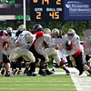 Rob Winner – rwinner@daily-chronicle.com<br /> Idaho quarterback Nathan Enderle fumbles the football in the second quarter, but NIU is unable to capitalize with a turnover.<br /> 09/26/2009