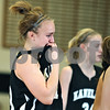 Beck Diefenbach  -  bdiefenbach@daily-chronicle.com<br /> <br /> Kaneland guard Mallory Huml (13) reacts after her team lost to Hampshire in the Kaneland Regional Semi Final game at Kaneland High School in Maple Park, Ill., on Tuesday Feb. 17, 2009.
