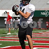 Beck Diefenbach  -  bdiefenbach@daily-chronicle.com<br /> <br /> Wide receiver Tyler Clasey (84) during practice at Huskie Stadium of Northern Illinois University in DeKalb, Ill., on Tuesday Sept. 1, 2009.