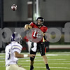 Rob Winner –  rwinner@daily-chronicle.com<br /> Northern Illinois quarterback Chandler Harnish releases a pass in the early goings of the second half.<br /> 09/12/2009