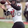 Beck Diefenbach  -  bdiefenbach@daily-chronicle.com<br /> <br /> Northern Illinois' Jason Schepler (87) during practice at NIU's Huskie Stadium in DeKalb, Ill., on Tuesday March 24, 2009.