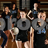 Rob Winner – rwinner@daily-chronicle.com<br /> (From left) Hannah Knox, Brittany Olson, Sam Thrower, Marie Cole, Evyn McCoy, Jillian Johnson, and Justine Schepler, all of Sycamore, competed at AAU nationals.<br /> 07/03/2009<br /> (from left) 34 (long sleeve), 40, 25 (long sleeve), 39, 27, 34, 25<br /> missing player is Ratasha Garbes, I will be emailed her photo on Saturday, July 4
