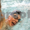 Beck Diefenbach  -  bdiefenbach@daily-chronicle.com<br /> <br /> Casey Jepsen swims during practice at DeKalb High School in DeKalb, Ill., on Thursday Nov. 19, 2009.