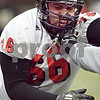 Beck Diefenbach  -  bdiefenbach@daily-chronicle.com<br /> <br /> Northern Illinois' Tony Holmes (66) during practice at NIU's Huskie Stadium in DeKalb, Ill., on Tuesday March 24, 2009.